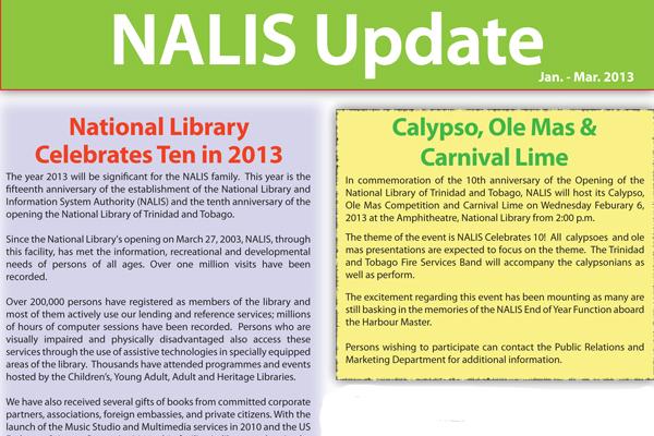 NALIS UPDATE