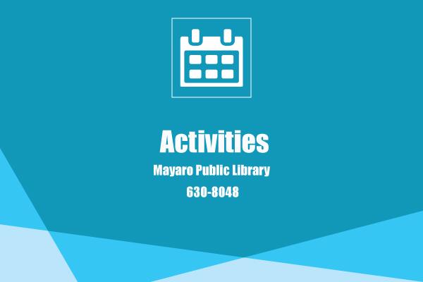 MAYARO PUBLIC LIBRARY